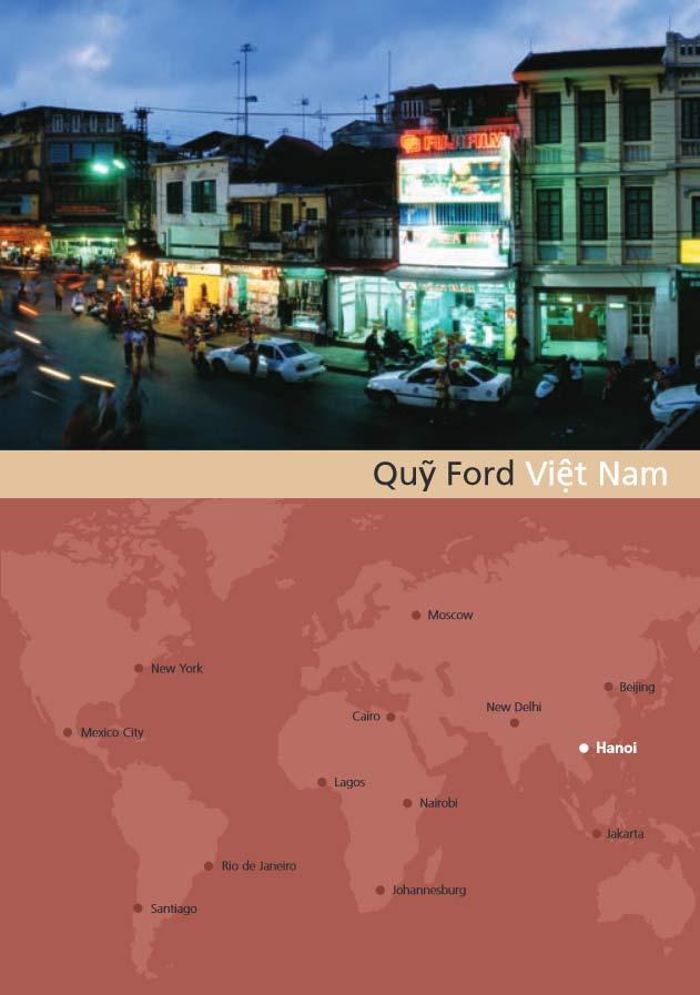 Vietnam regional brochure in Vietnamese