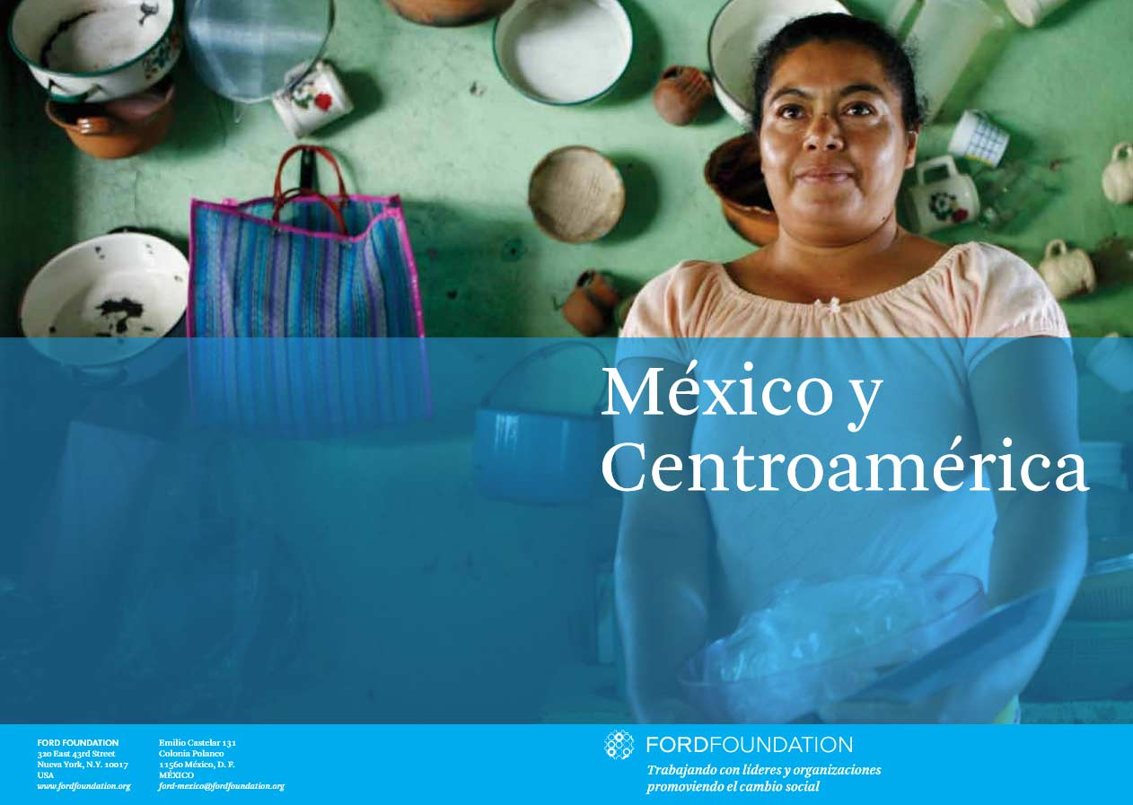 Mexico and Central America regional brochure