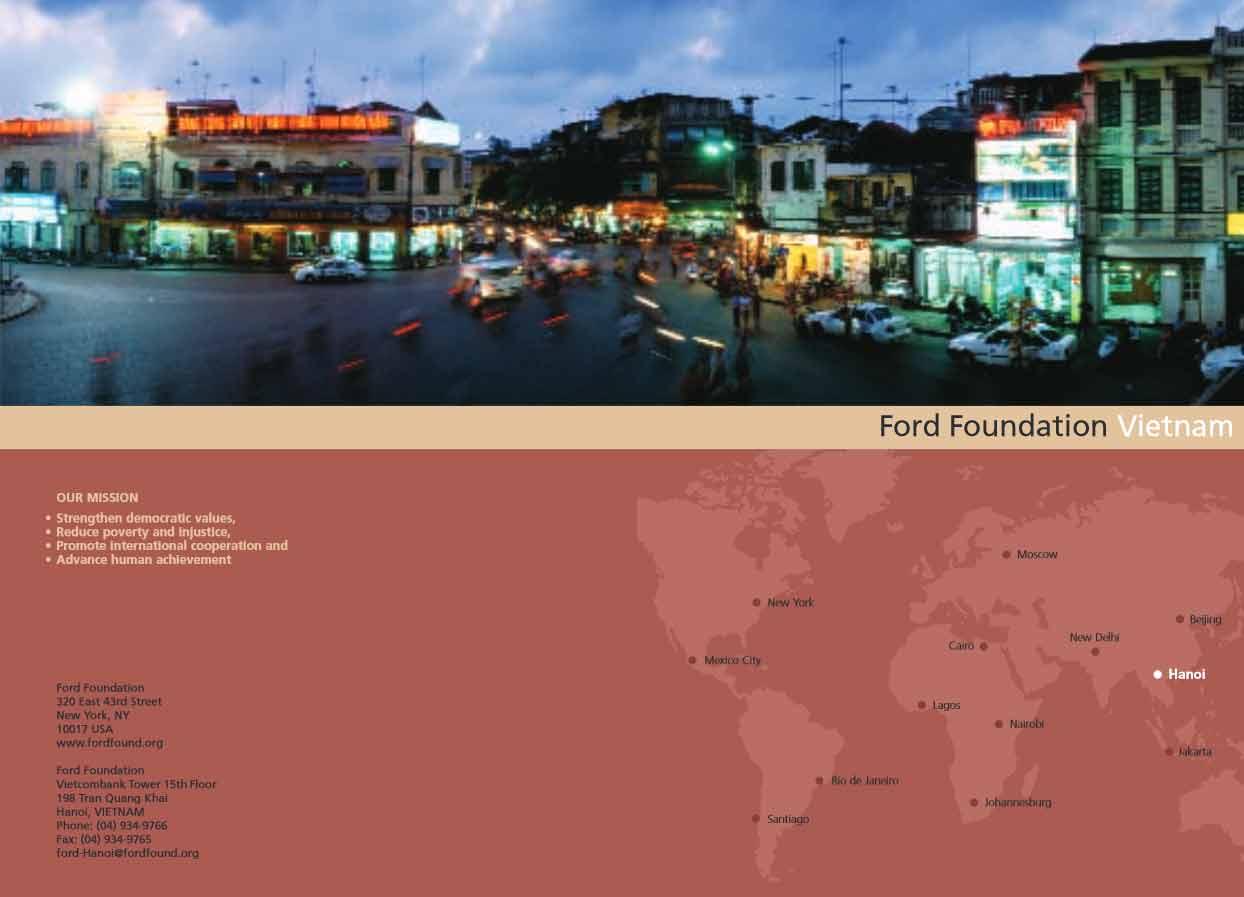 2006 Vietnam regional brochure
