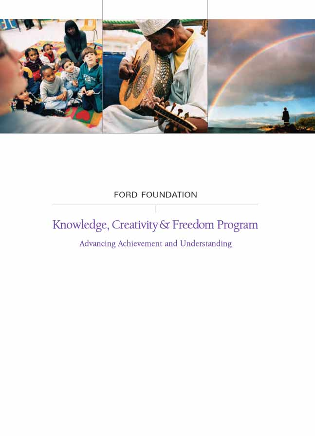 Ford Foundation: Knowledge, Creativity, and Freedom Program