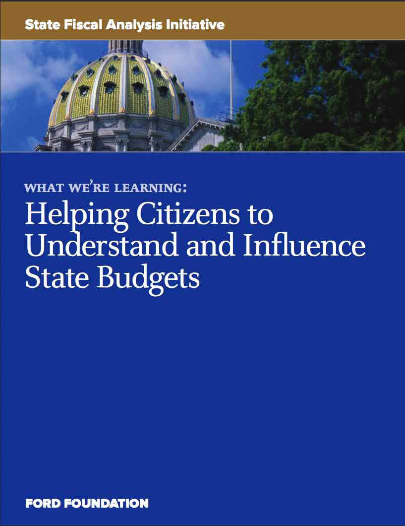 State Fiscal Analysis Initiative