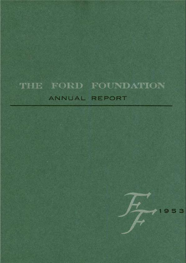 FF Annual Report 1953