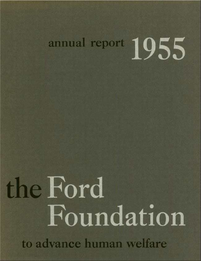 FF Annual Report 1955
