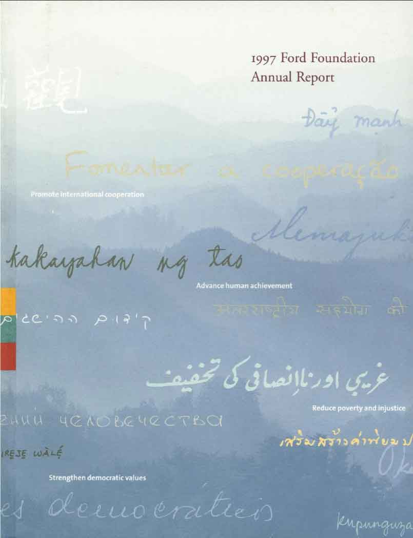 FF Annual Report 1997