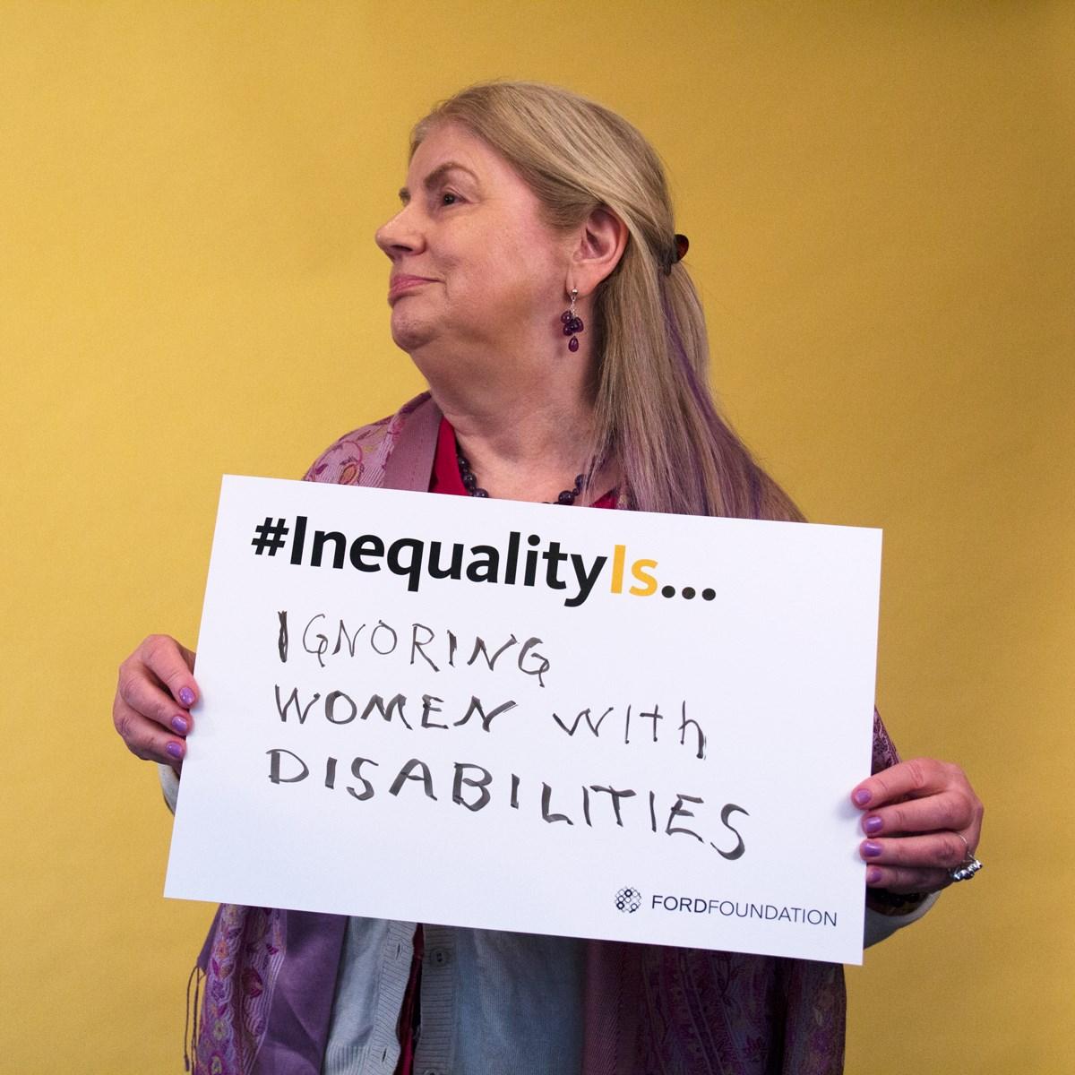 Stephanie Ortoleva, president of WomenEnabled.org