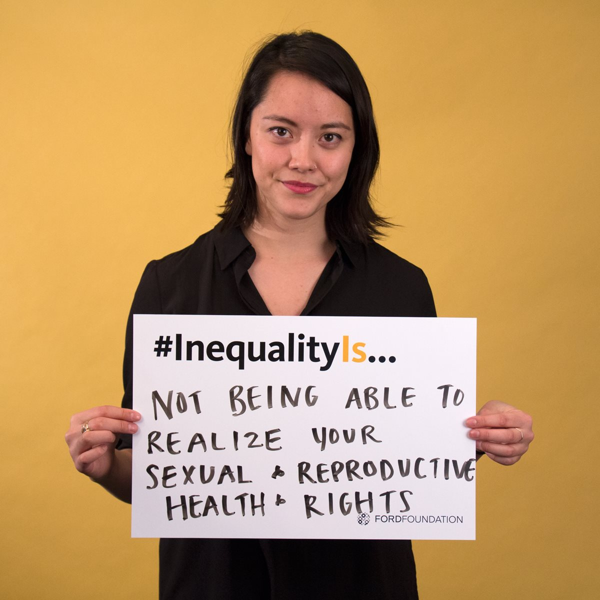 Sarah Jedges-Chou of Youth Coalition for Sexual and Reproductive Rights
